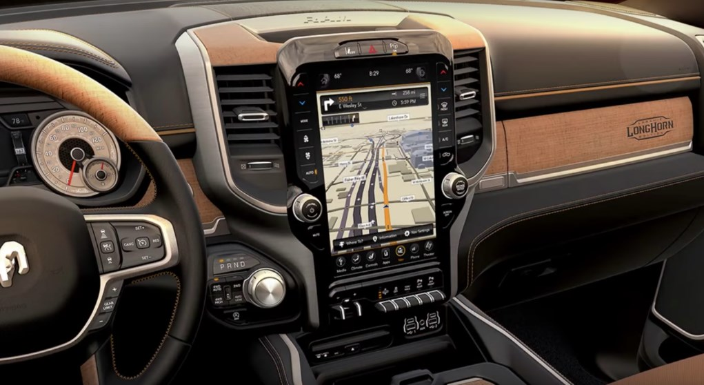 2019 Dodge 2500 Longhorn Interior