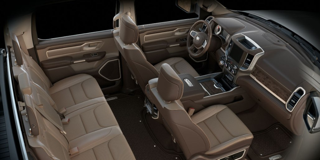 2019 Dodge 2500 Truck Interior