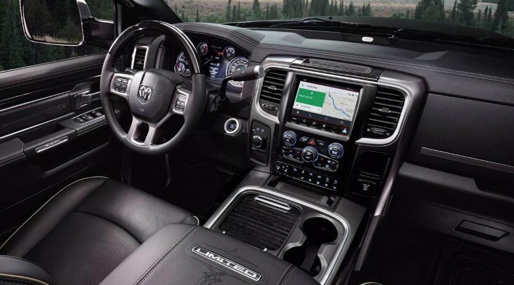 2019 Dodge 3500 Dually Interior