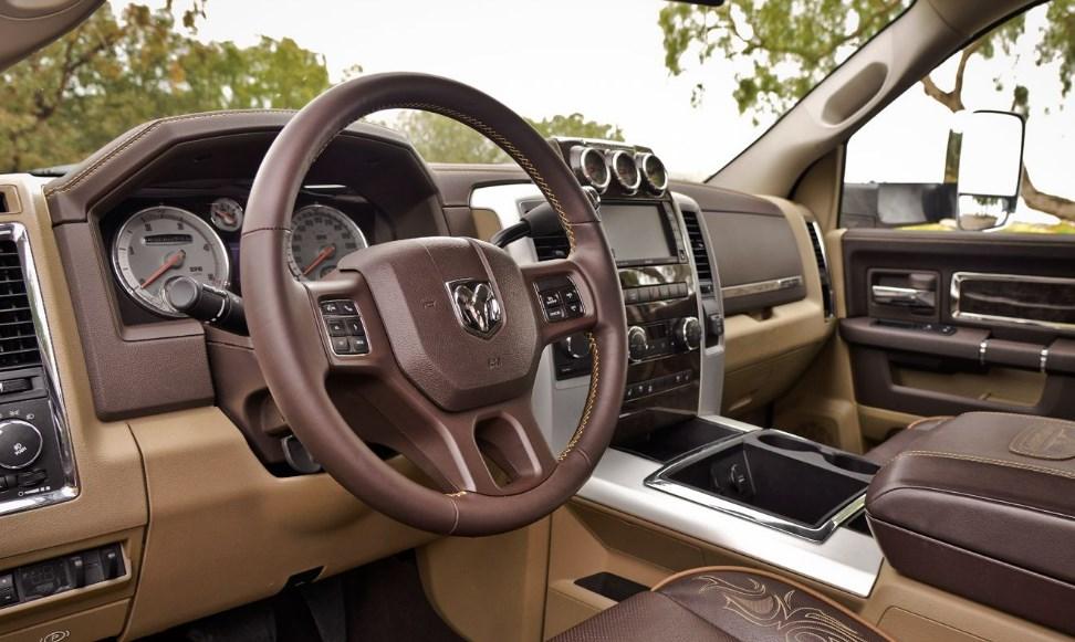 2019 Dodge 5500 Interior