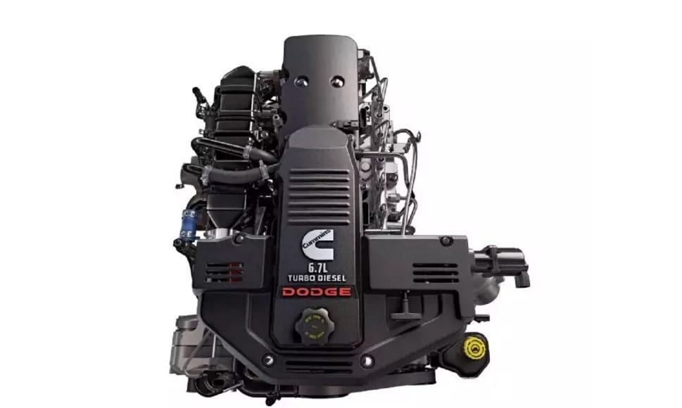 2019 Dodge Cummins Engine