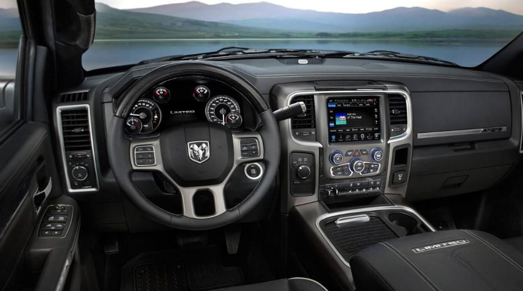 2019 Dodge Cummins Interior