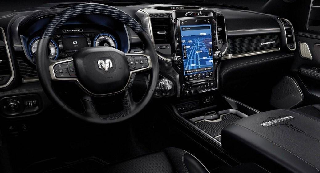 2019 Dodge Diesel Interior