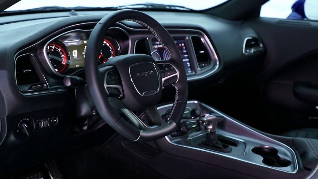2019 Dodge Hellcat Interior