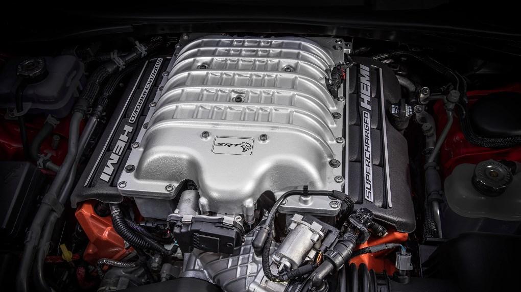 2019 Dodge Hellcat SRT Engine