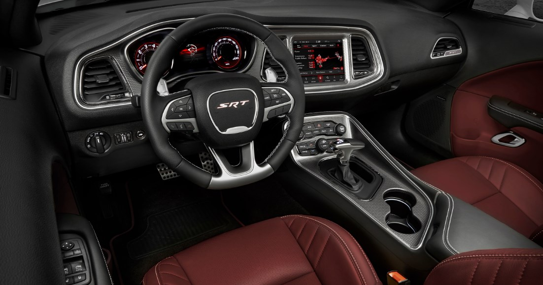 2019 Dodge Hellcat SRT Interior