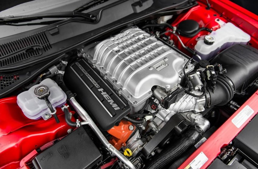 2019 Dodge Hemi Cuda Engine