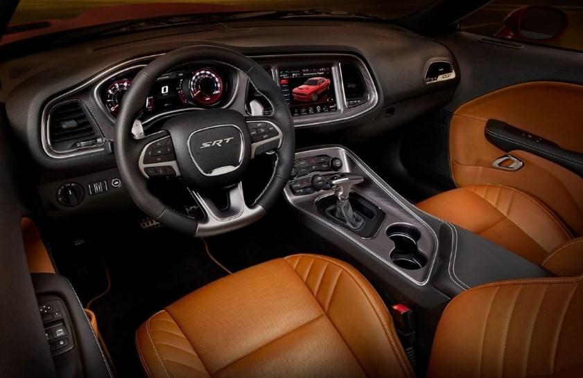 2019 Dodge Hemi Cuda Interior