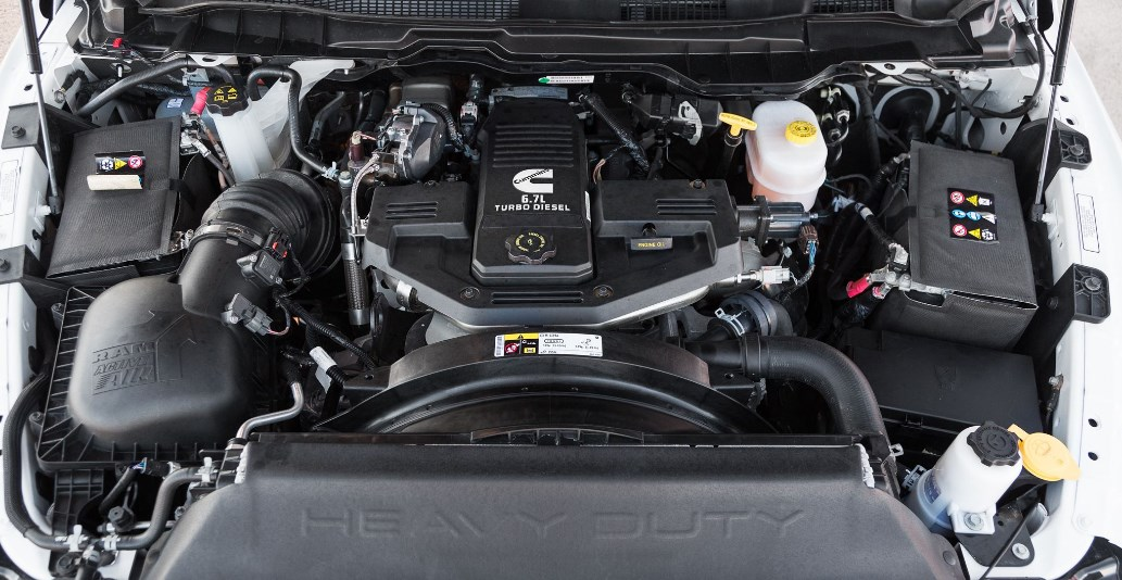 2019 Dodge Laramie Longhorn Engine