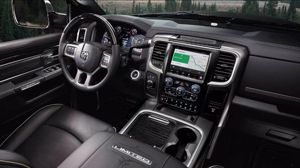2019 Dodge Mega Cab 2500 Interior
