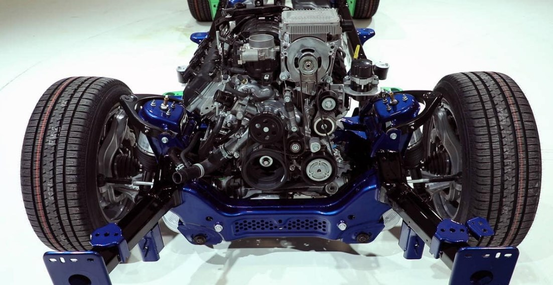 2019 Dodge Pickup Truck Engine