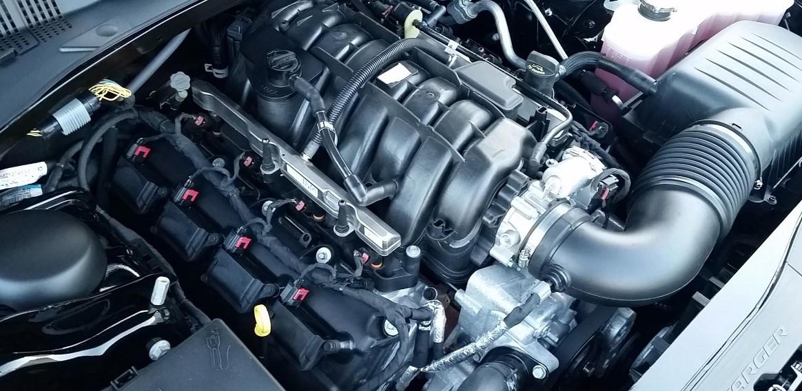 2019 Dodge Police Charger Engine
