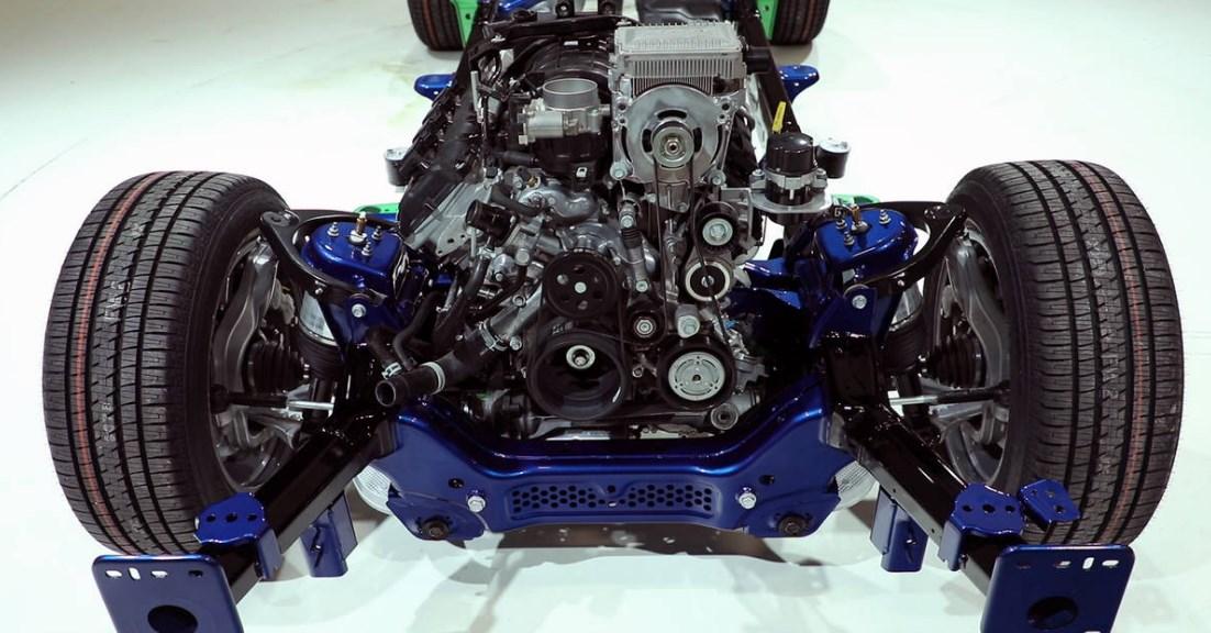 2019 Dodge Tradesman Engine