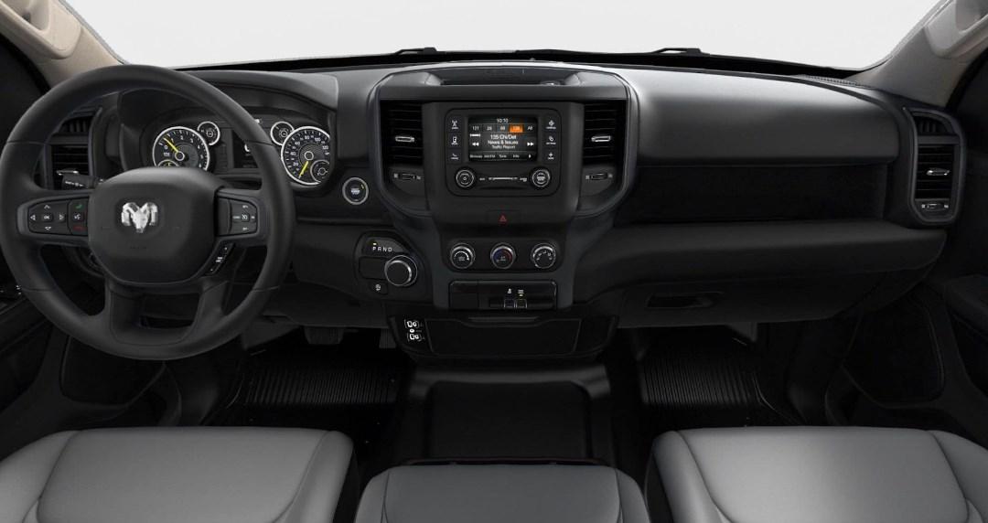 2019 Dodge Tradesman Interior