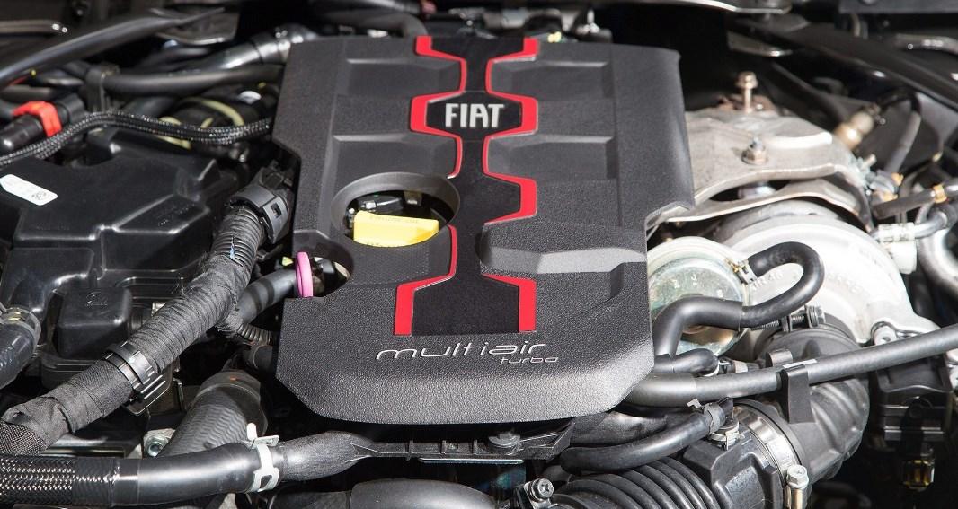 2019 Fiat 124 Spider Abarth Engine