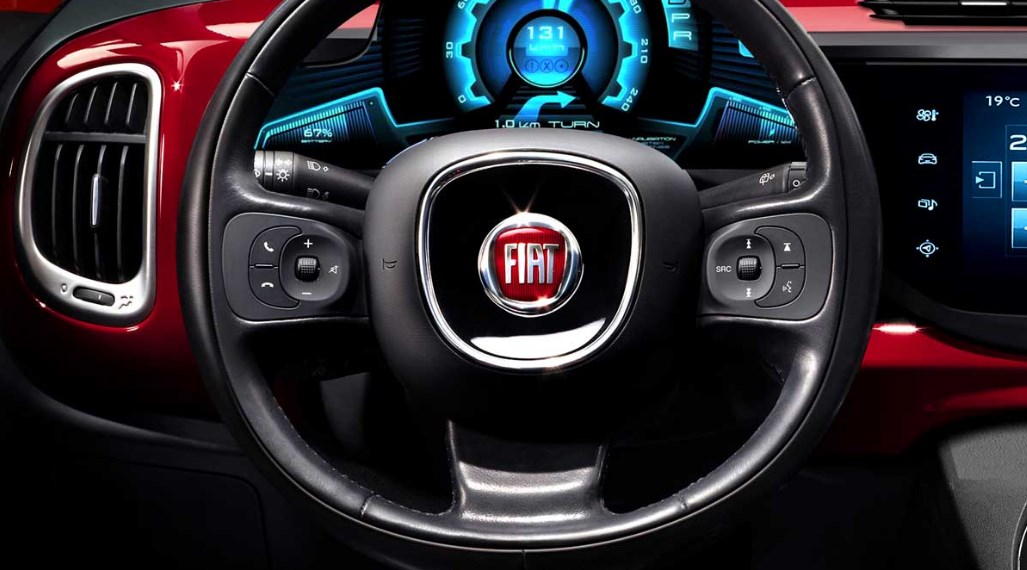 2019 Fiat Abarth Interior