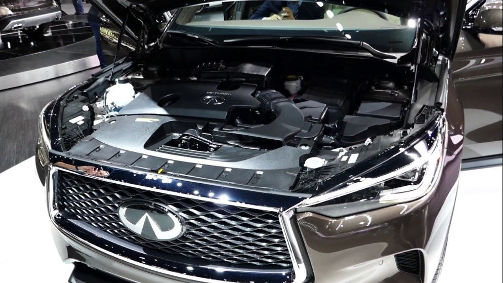 2019 Infiniti QX80 Engine