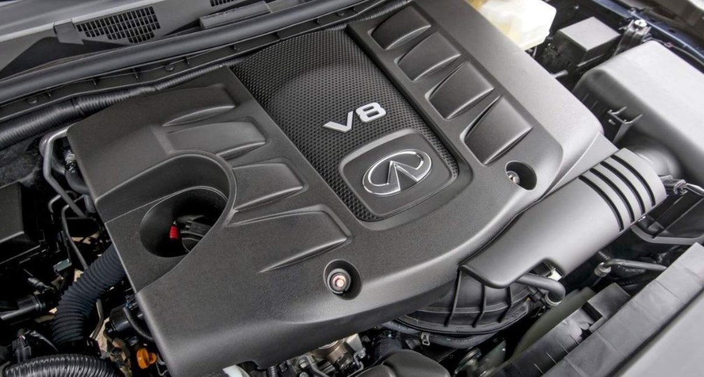 2019 Infiniti QX80 Limited Engine