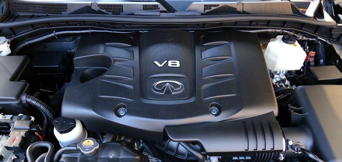 2019 Infiniti SUV QX80 Engine