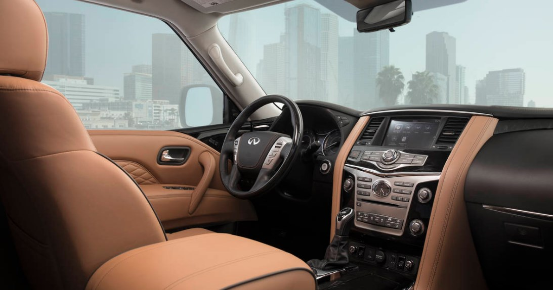 2019 Infiniti SUV QX80 Interior