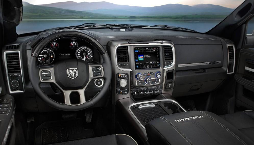 2020 Dodge Ram Rumble Bee Interior