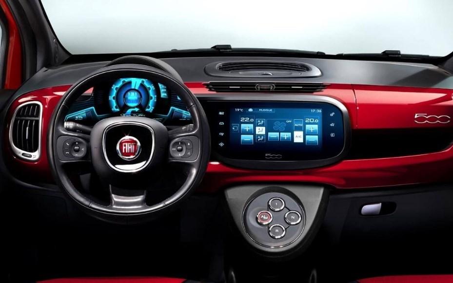 2020 Fiat 500 Interior