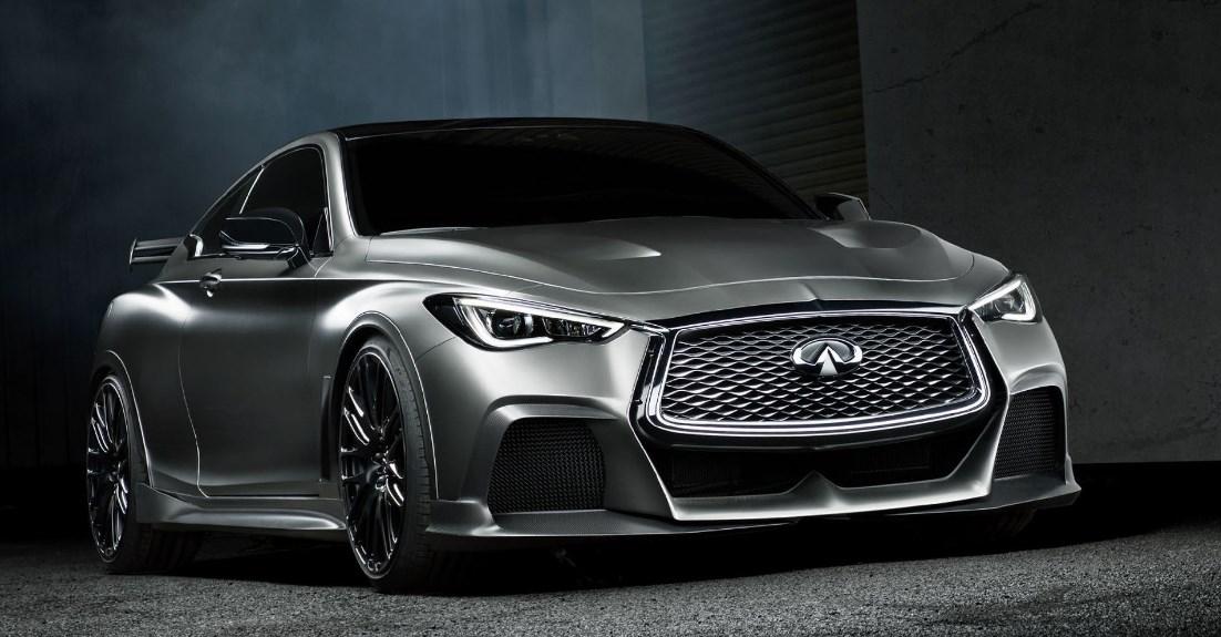2020 Infiniti Q60 Black S Exterior