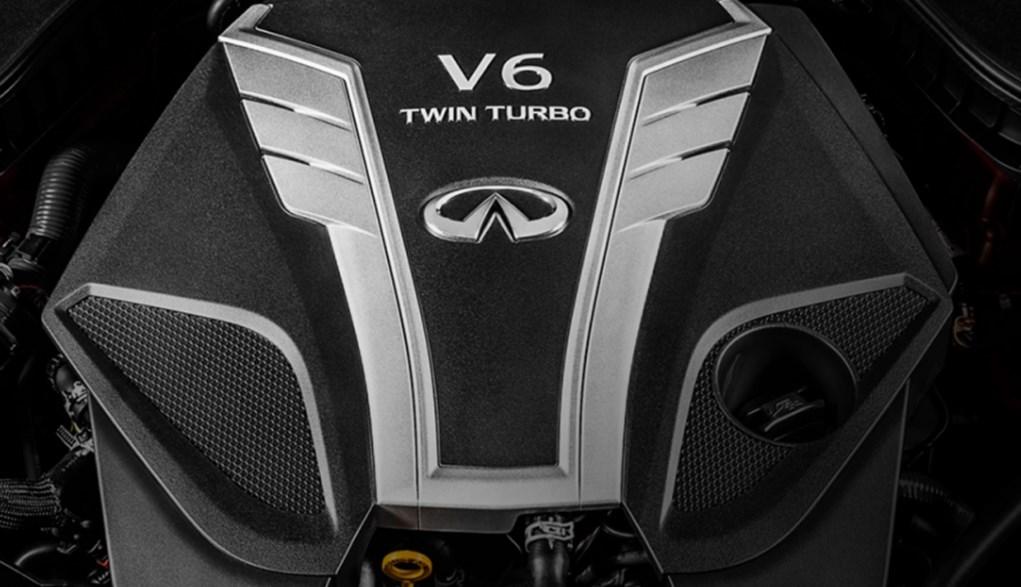 2020 Infiniti Q60 Convertible Engine