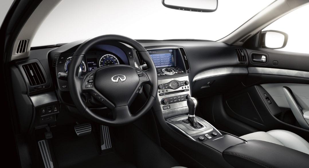 2020 Infiniti Q60 Convertible Interior
