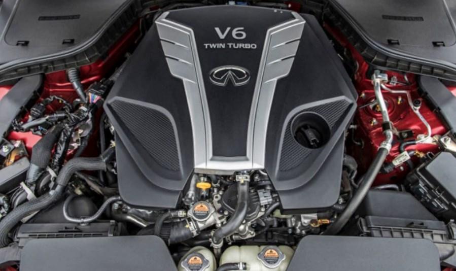 2020 Infiniti Q60 Engine