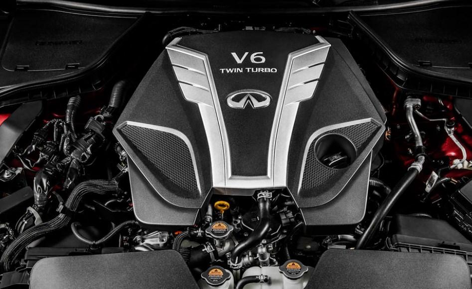 2020 Infiniti Q80 Engine