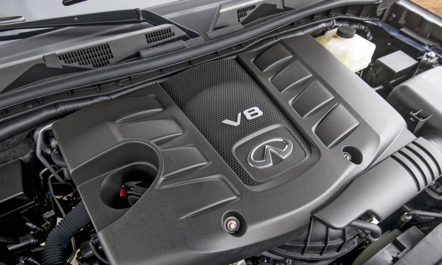 2020 Infiniti QX80 Engine