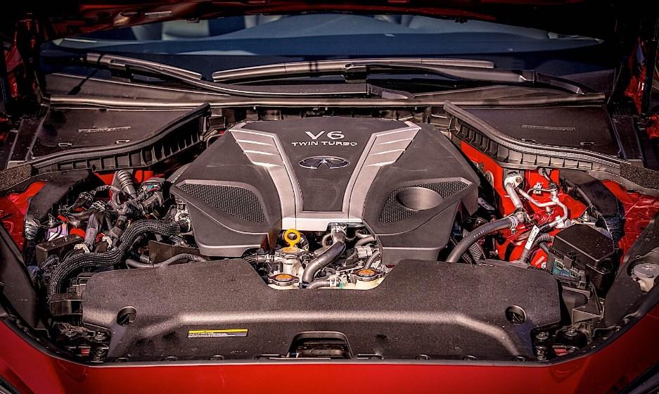 2021 Infiniti Q50 Engine