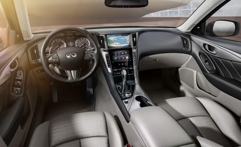 2021 Infiniti Q50 Interior