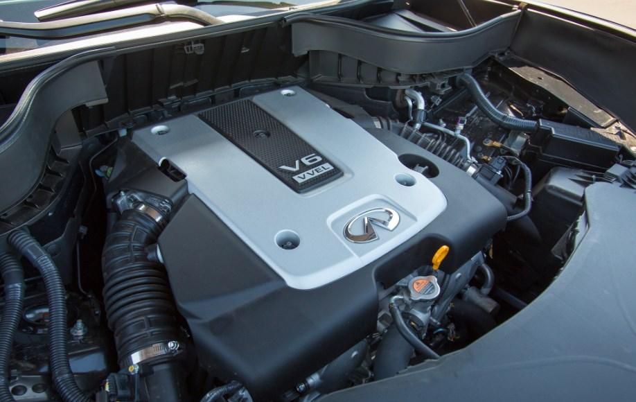 2021 Infiniti QX70 Engine