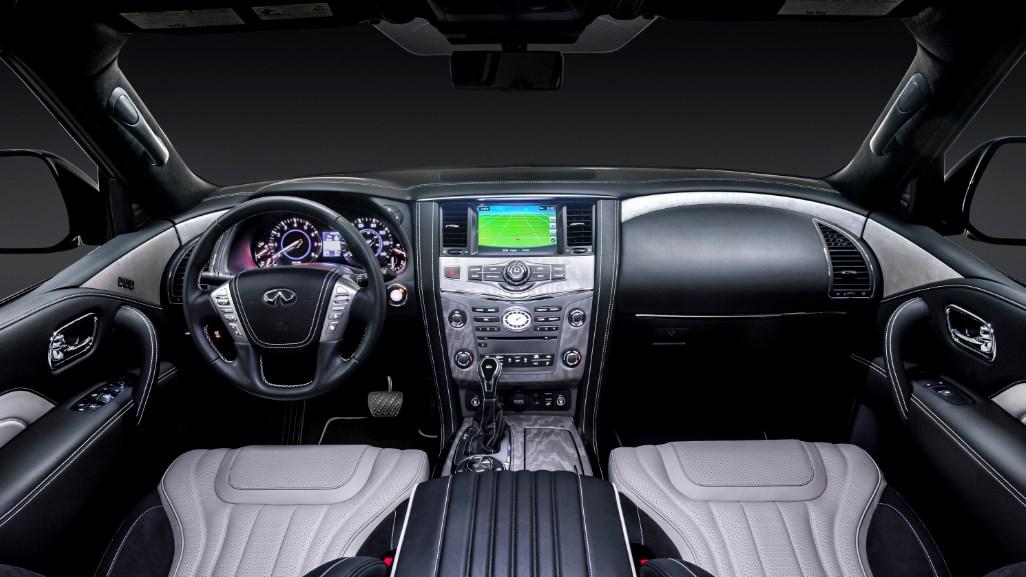 Infiniti QX80 2019 Interior