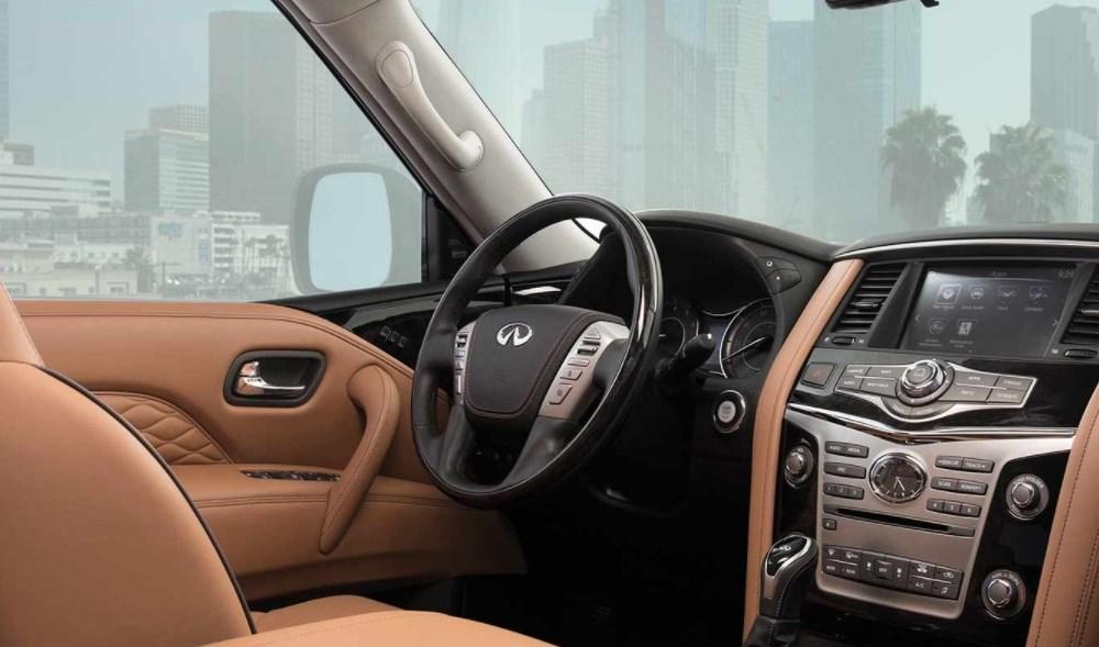 Infiniti QX80 2020 Interior