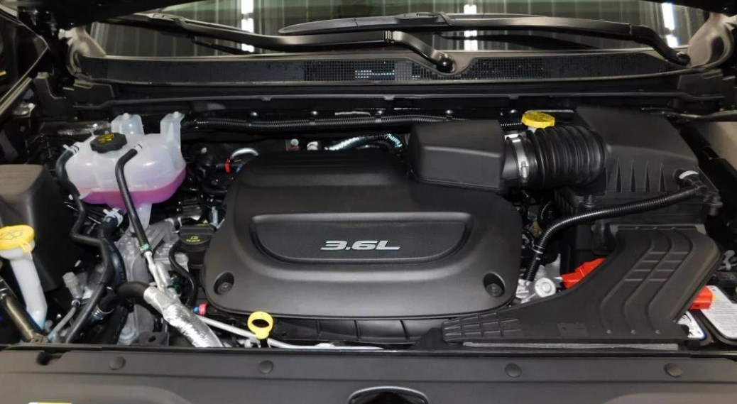 2019 Chrysler Pacifica Engine