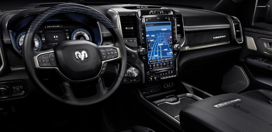 2019 Dodge Laramie Limited Interior