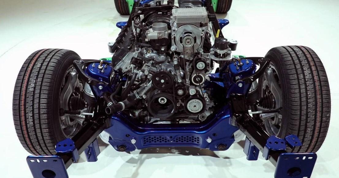 2019 Dodge Limited Pickup Engine
