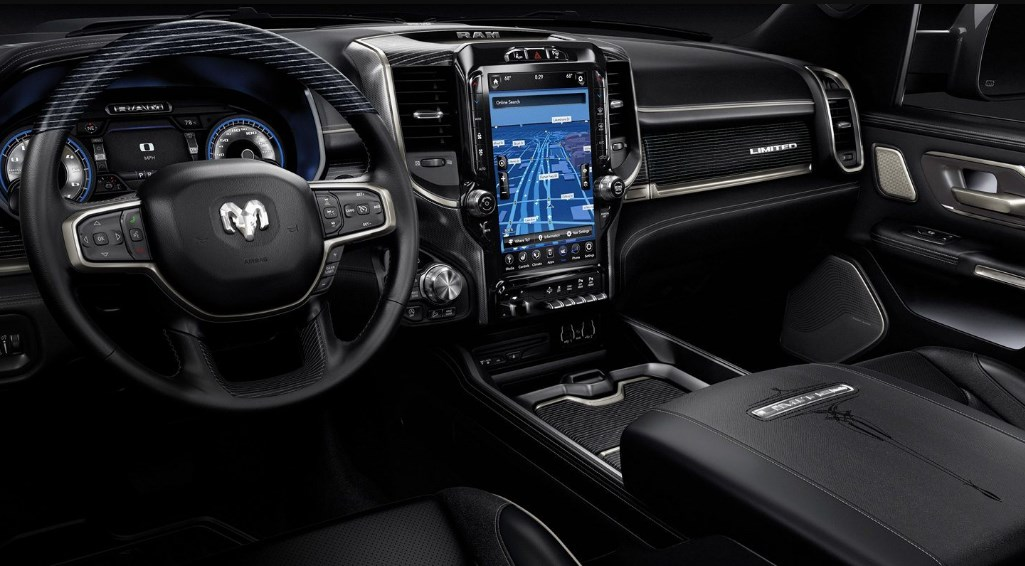 2019 Dodge Limited Pickup Interior
