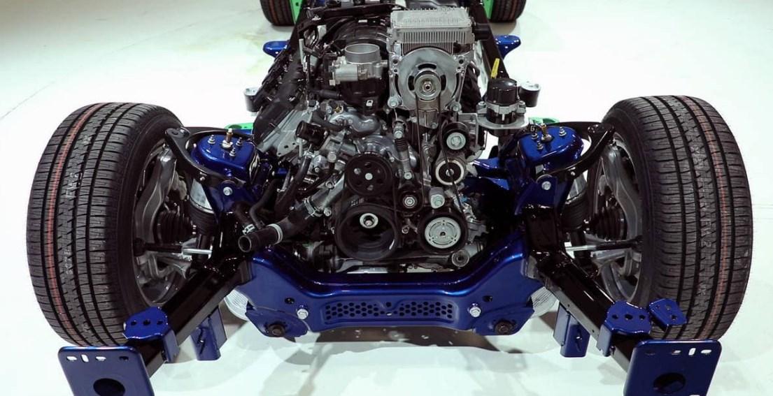 2019 Dodge Lineup Engine