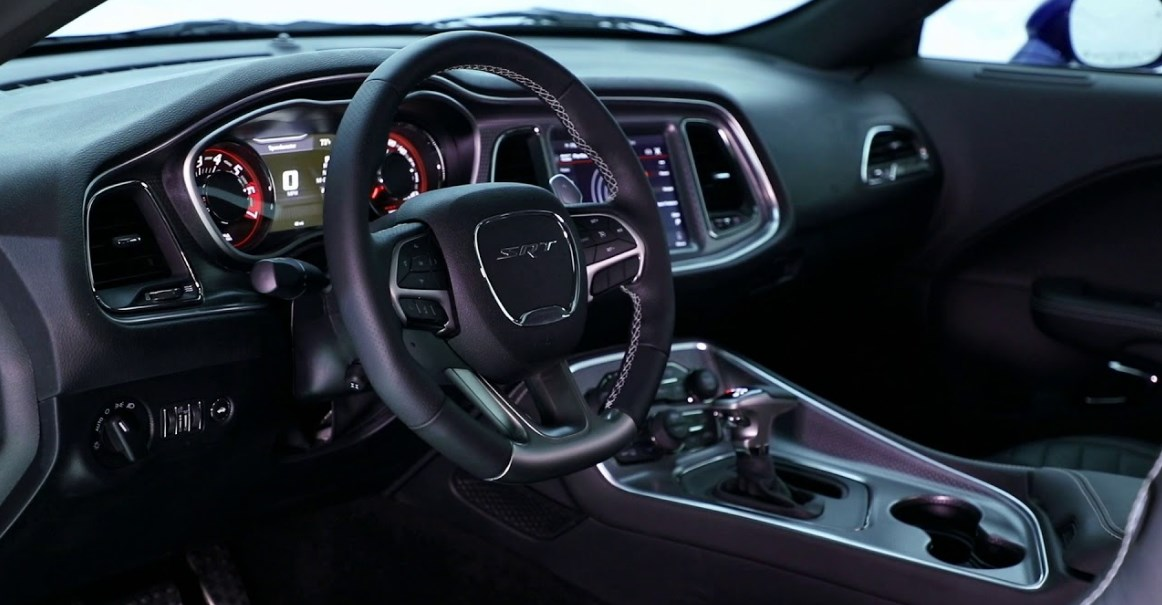 2019 Dodge Muscle Cars Interior