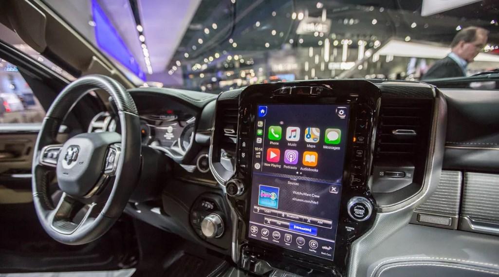 2019 Dodge Ram Sport Interior