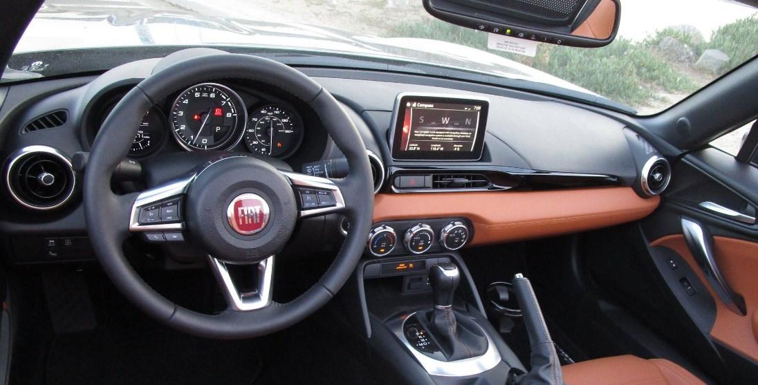 2019 Fiat 124 Interior