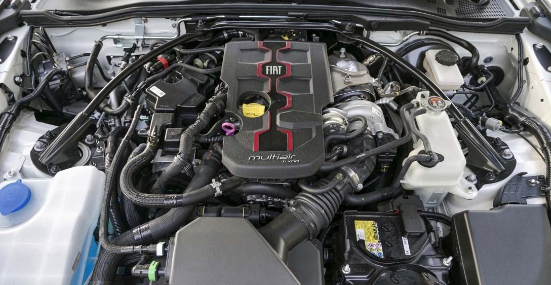 2019 Fiat Abarth Spider Engine