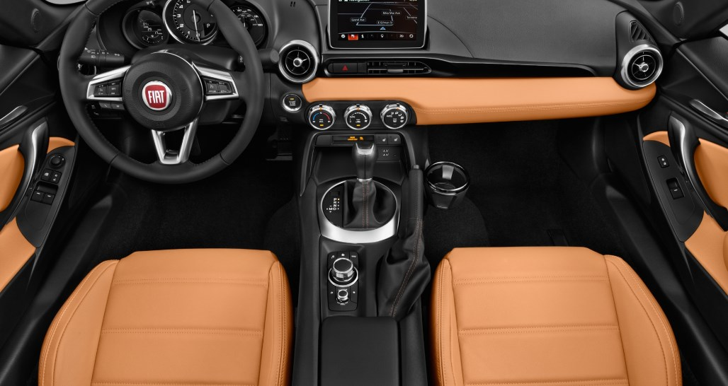 2019 Fiat Abarth Spider Interior