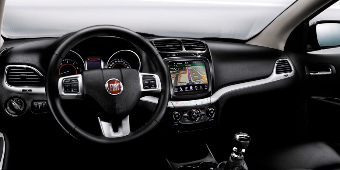 2019 Fiat Freemont Interior