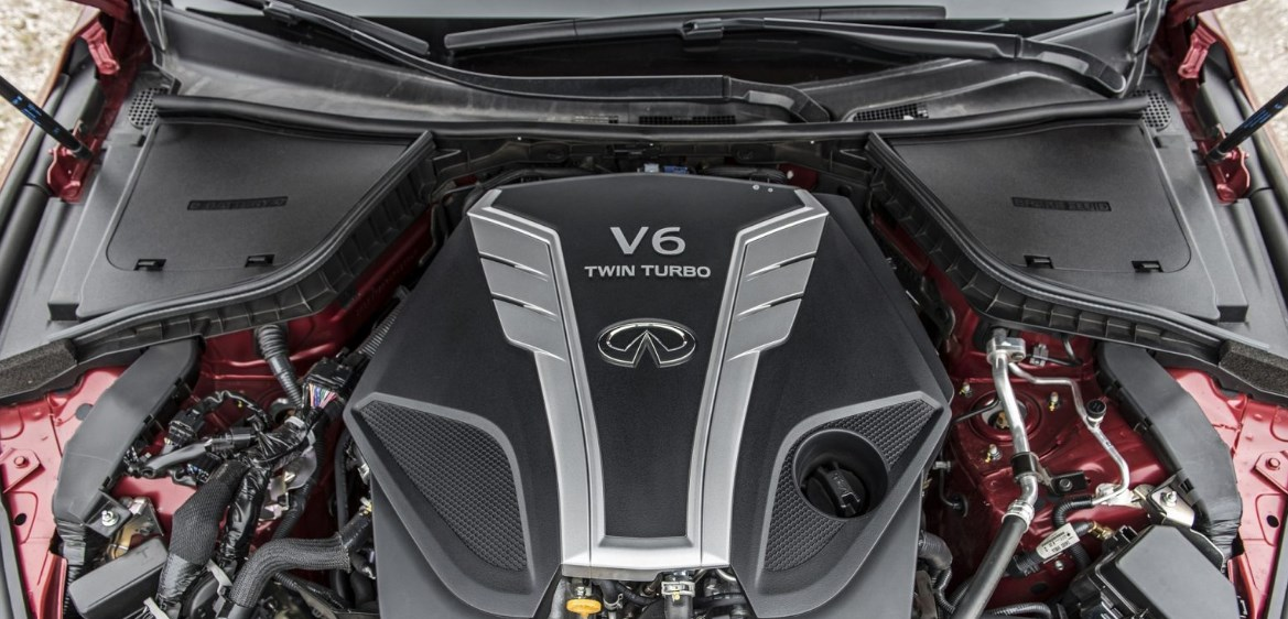 2019 Infiniti Q50 Red Sport Engine