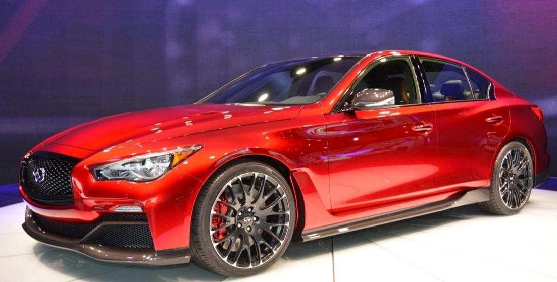 2019 Infiniti Q50 Red Sport Exterior